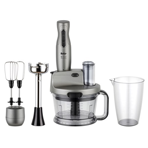Fakir Mr Chef Quadro Blender Set Silver Stone