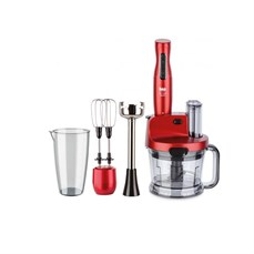 Fakir Mr Chef Quadro Blender Set Rouge